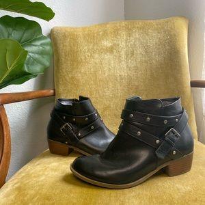 Torrid | Black Leather Booties